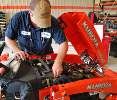 Dothan Outdoor Equipment - Service Department services kubota, land pride, honda power equipment, echo outdoor power equipment products